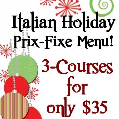 Piccolo holiday menu square